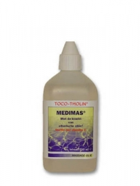 Toco-Tholin Medimas, medicinale massage olie / 250 ml