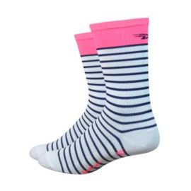 DeFeet Aireator Hightop Sailor Fluor Pink