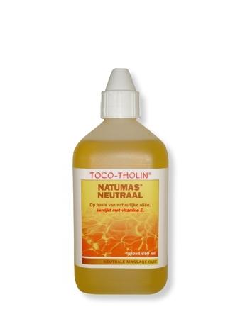 Toco-Tholin Natumas Neutraal massage olie / 250 ml