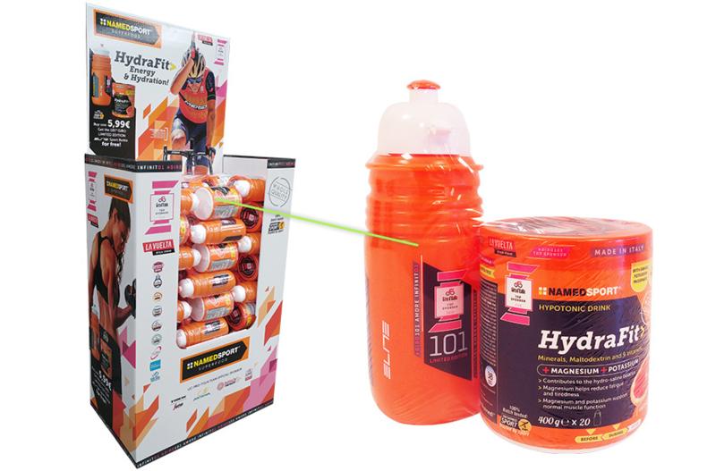 Named Hydrafit Energydrank