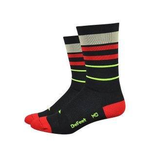 DeFeet Aireator High Top Gold Line