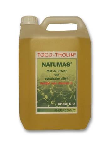 Toco-Tholin Natumas massage olie / 5 liter