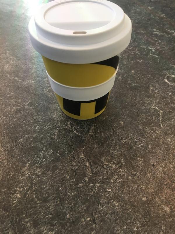 Magura take-away koffie mok met deksel