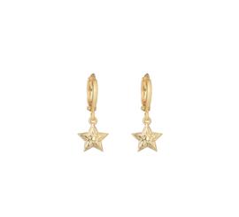 Oorringetjes Stars - Gold