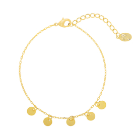Bracelet little coins Gold