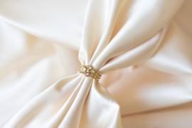Ring Swarovski lavendel - goud