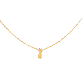 Necklace Pineapple - Gold