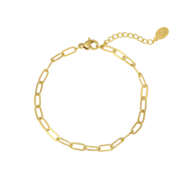 Armband chain subtiel- goud