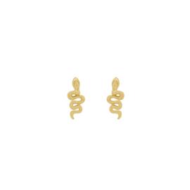 Oorknopjes slangetje II - goud