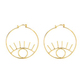 Earrings Eye Candy - Gold