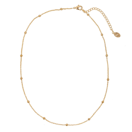 Necklace Dots - Gold