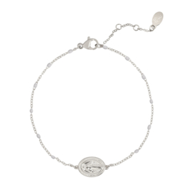 Bracelet Holy Coin- Silver