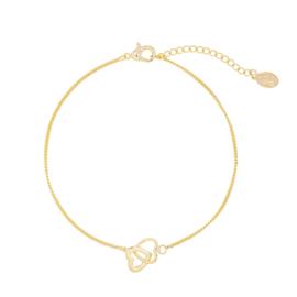 Bracelet Hearts - Gold