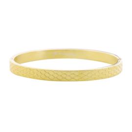 Bangle big snake - goud