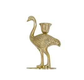 Candleholder Ostrich