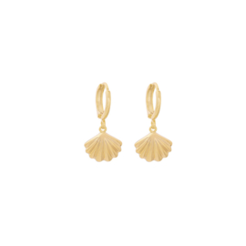 Oorringetjes Shell - Gold
