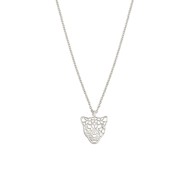 Necklace Leopard - Silver
