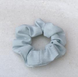 Scrunchie licht blauw