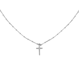 Necklace Cross - Silver