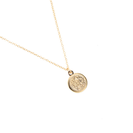 Necklace  Coin - Gold