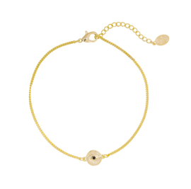 Armband met oogje - goud