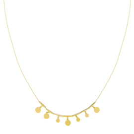 Necklace Little Coins  - Gold