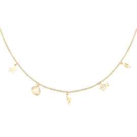 Ketting zomers - goud