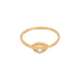 Ring oogje - goud
