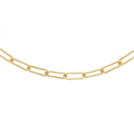 Ketting open chain -  goud