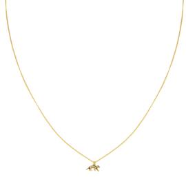 Necklace Leopard  - Gold