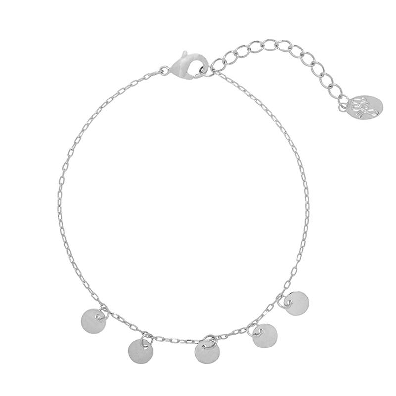 Bracelet little coins Silver