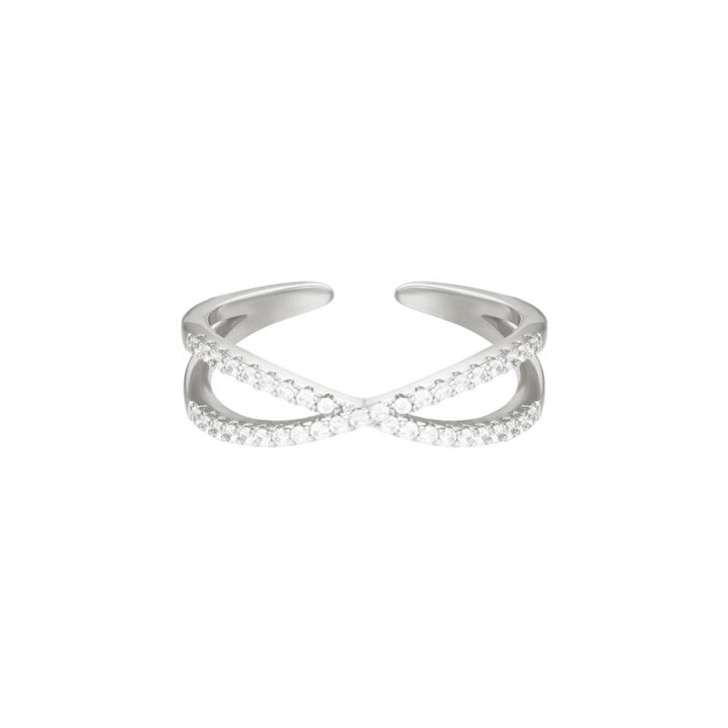 Ring fancy - zilver
