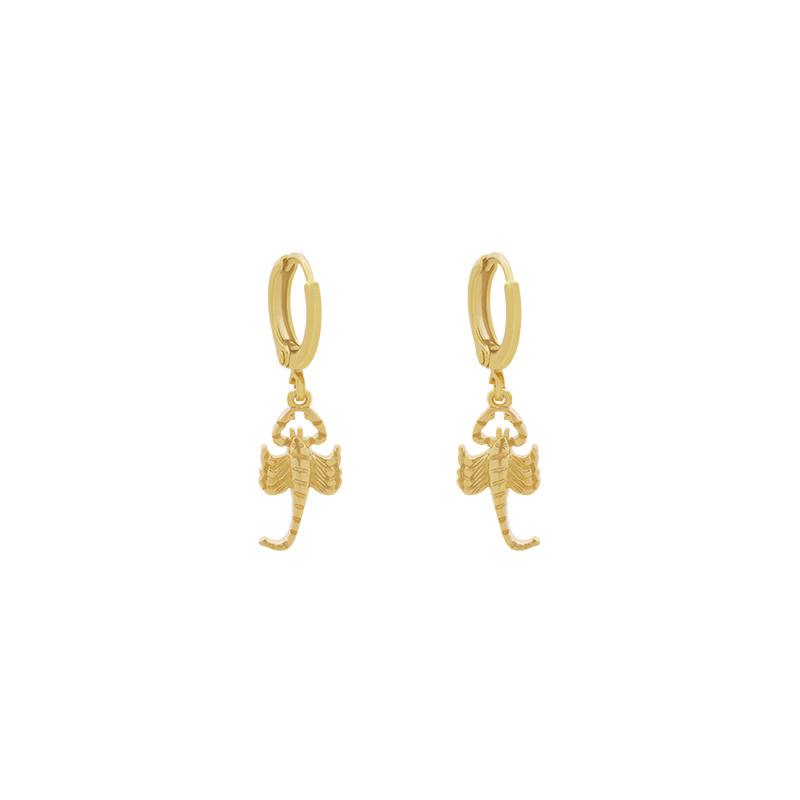 Oorringetjes Scorpio - Gold