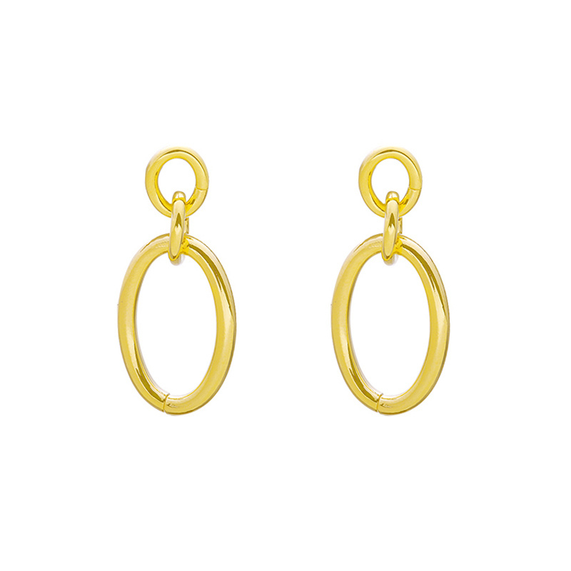 Perfect Oval Earrings - Gold