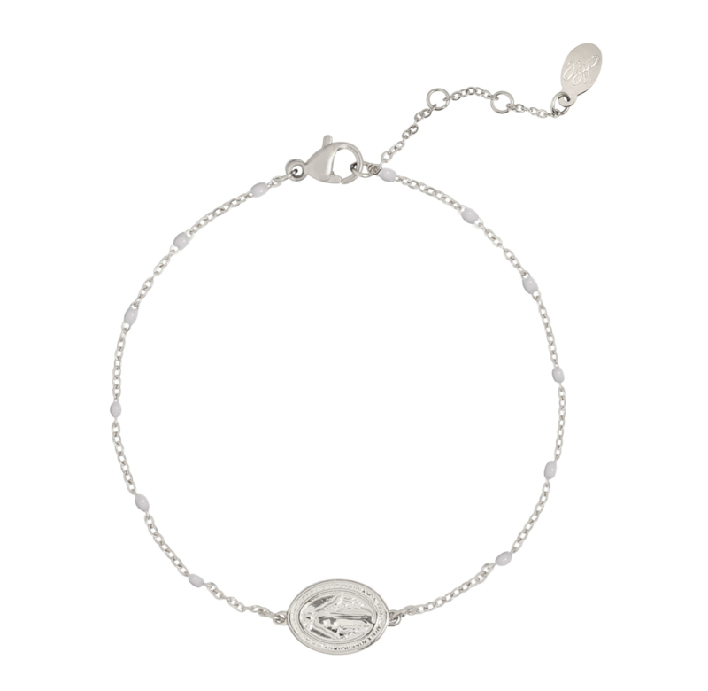 Bracelet Holy Coin- Silver