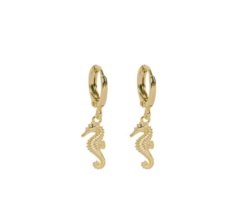 Oorringetjes Seahorse - Gold
