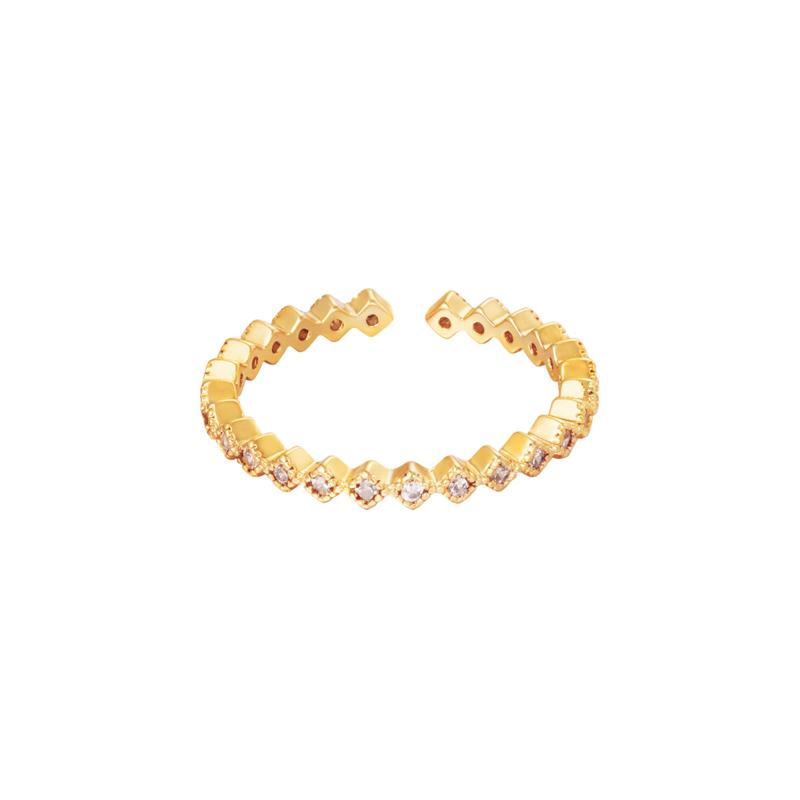 Ring sparkle - goud