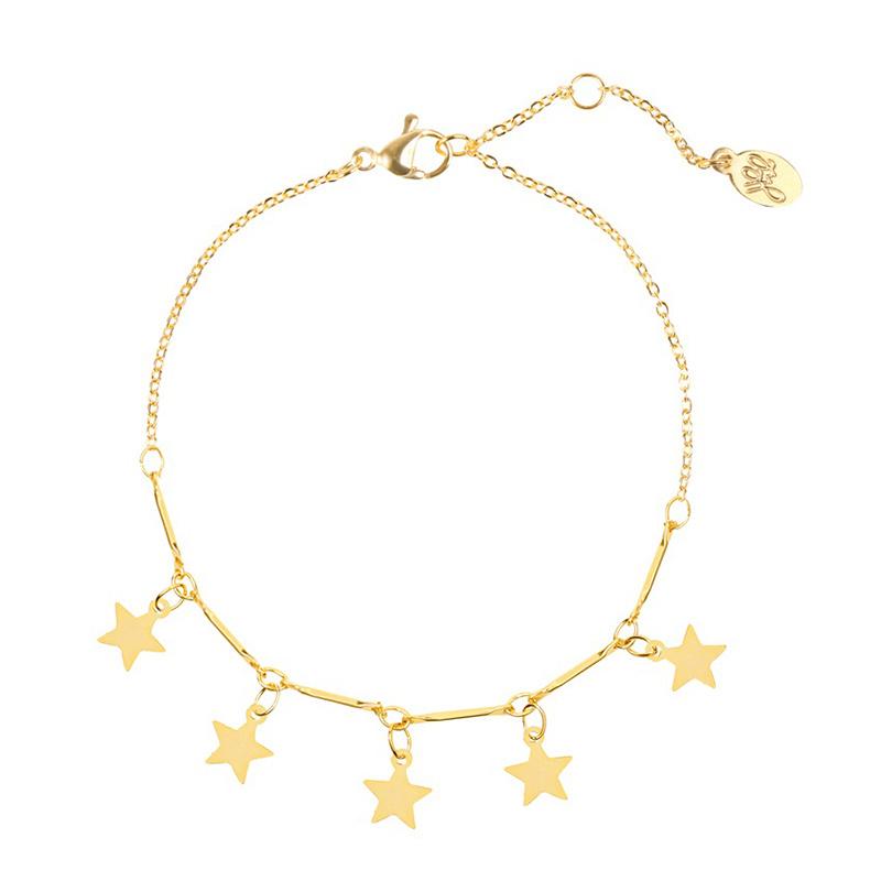 Bracelet Stars Gold