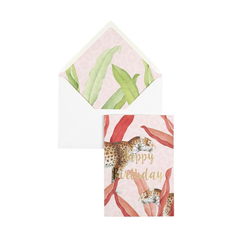 Postcard Pink  Panter - Happy Birthday