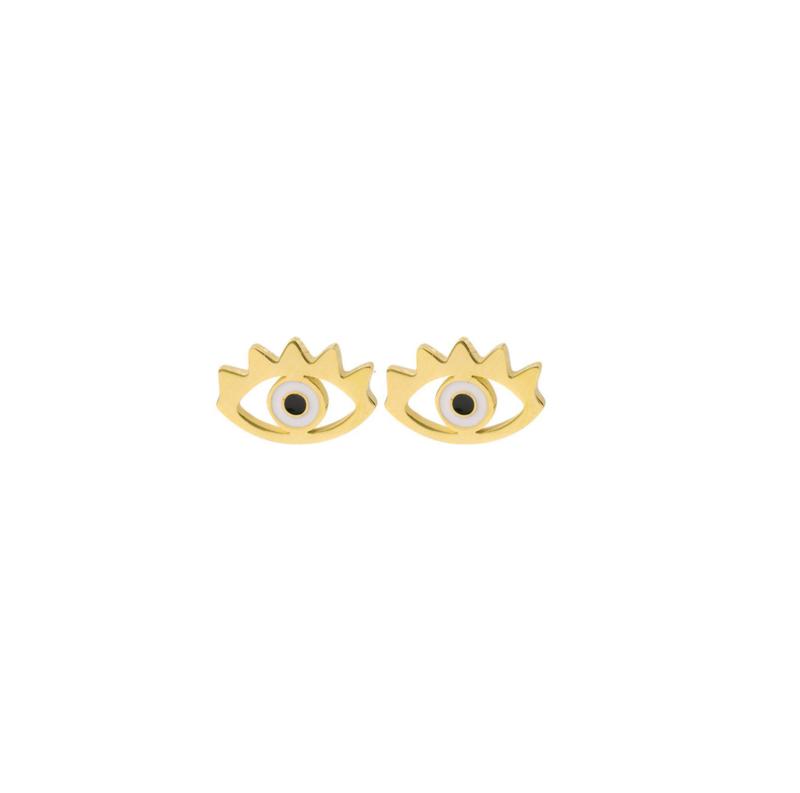 Earstuds Eyes-Gold