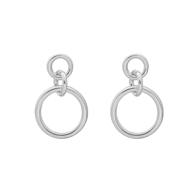 Perfect Round Earrings - Silver