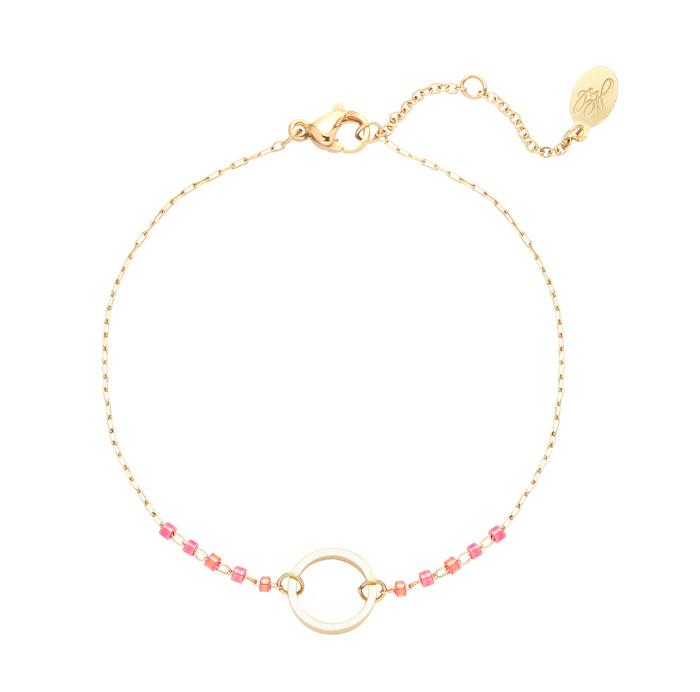Bracelet Round - Gold