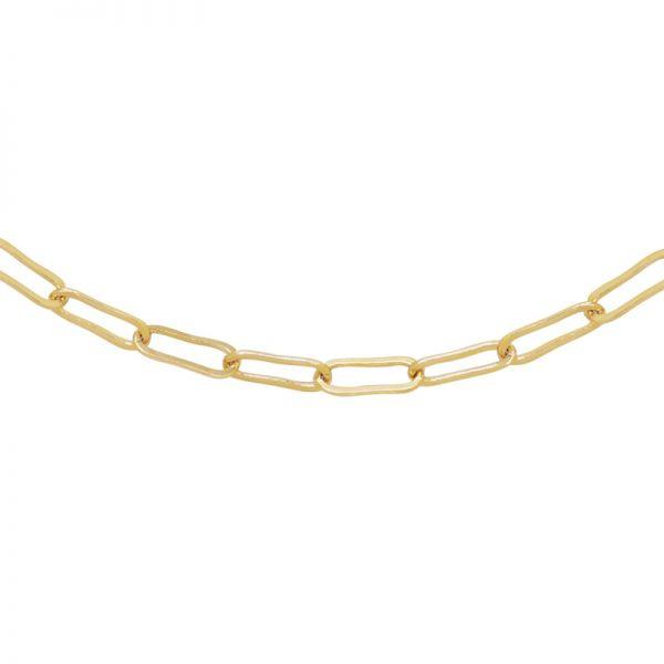 Ketting open chain -  goud