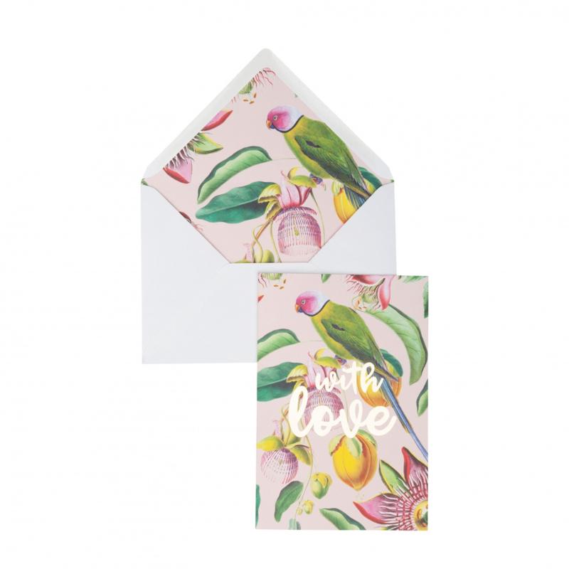 Postcard Botanic Garden- With Love