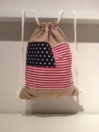 Rugtasje Amerikaanse vlag