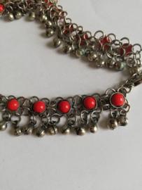 Enkelband rood