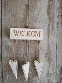 Deco hanger Welkom