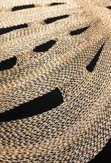 Sierkussen monstera blad goud 45cm