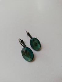 Oorbel turquoise