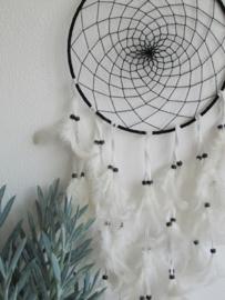 Dromenvanger zwart & wit 90cm